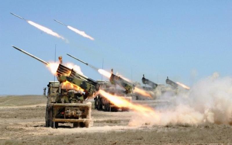 Artilleriyamız Ağdərəni və o istiqamətdəki yüksəklikləri viran qoydu
