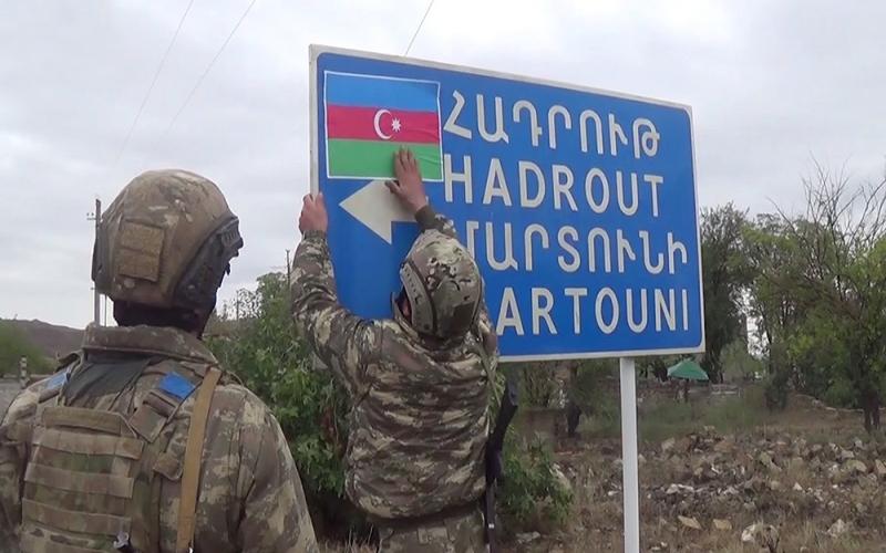 """""""Hadrutdan aralanıb irəli getməliyik, əks halda itirə bilərik"""""""