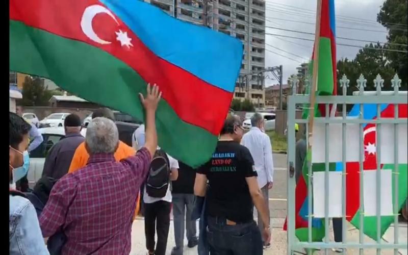 Ermənistanın Gəncədəki vandalizm aktları Avstraliya ictimaiyyətinə  çatdırılıb