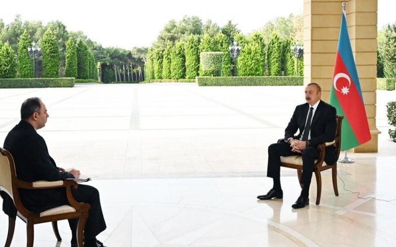 """İlham Əliyev """"İnterfaks"""" agentliyinə müsahibə verib -  TAM MƏTN"""