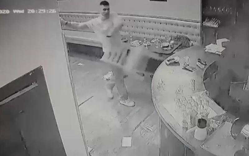 Ermənilər Los-Ancelesdəki türk restoranına hücum ediblər -  VİDEO