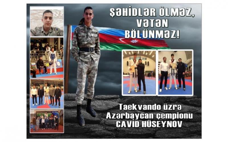 On səkkiz yaşlı qalib Şəhidim -  FOTOLAR
