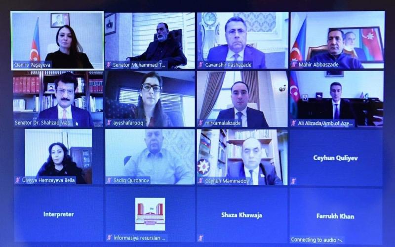 Azərbaycan və Pakistan parlament dostluq qruplarının Xocalı soyqırımına həsr olunmuş görüşü keçirilib