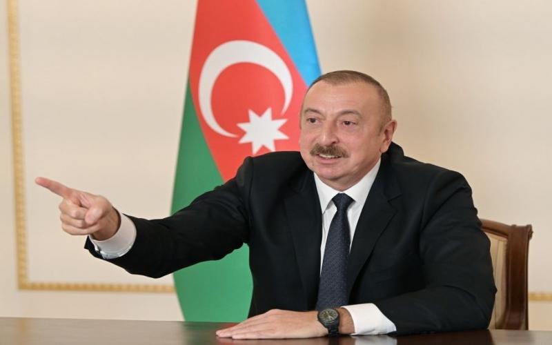 """İlham Əliyev: """"Bizdə olan məlumata görə, təqribən 6-7 min işğalçı məhv edilib"""""""