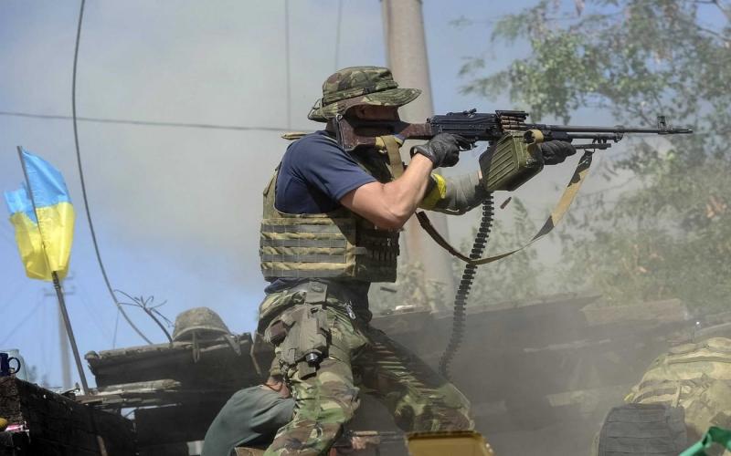 Dominant.Az - Ukrayna ordusu hərəkətə keçdi - Donbasda döyüşlər başladı