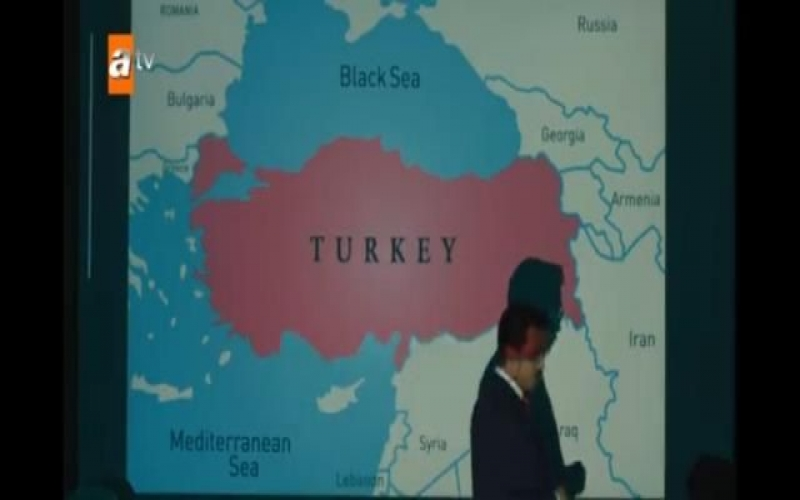 Türk serialındakı qalmaqallı Azərbaycan xəritəsi dəyişdirildi