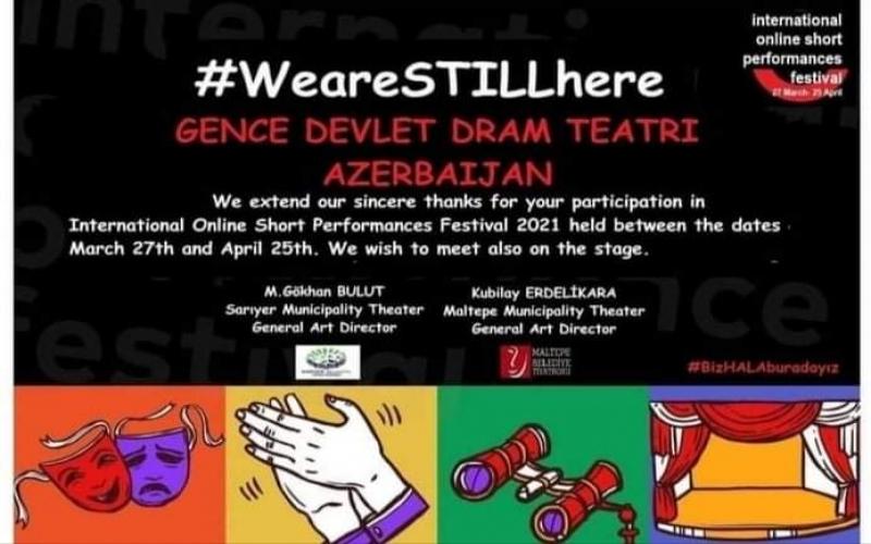 Gəncə Dövlət Dram Teatrı Beynəlxalq festivalda Fəxri Fərmanla təltif olunub