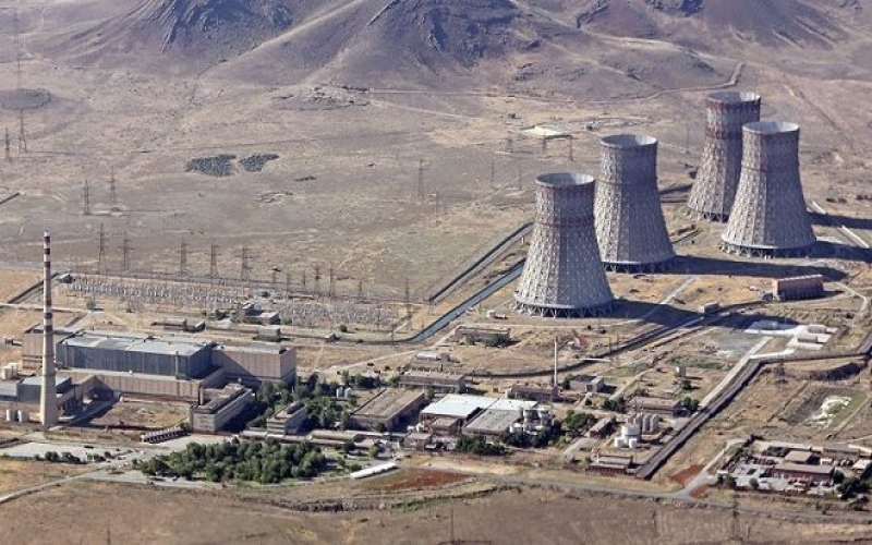 Ermənistanda Metsamor AES-in fəaliyyəti müvəqqəti dayandırılıb