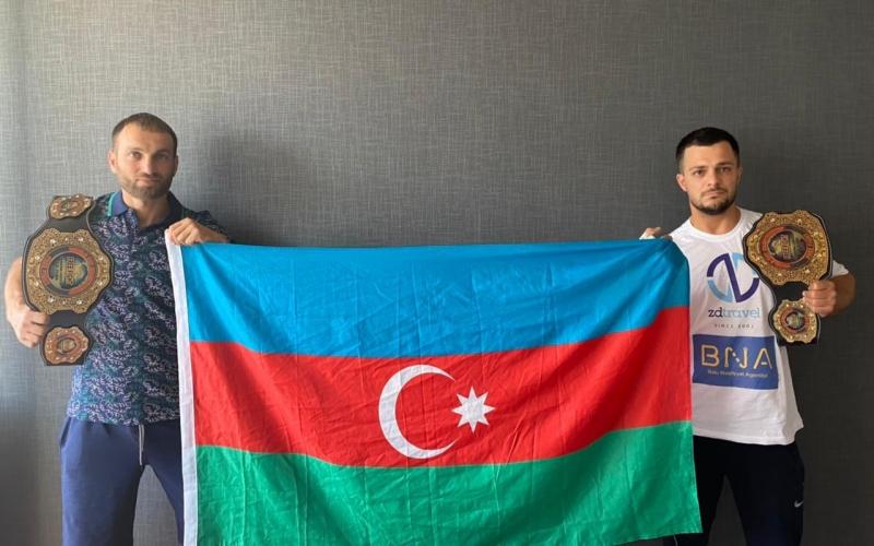 Azərbaycanlı idmançılar dünya çempionu adını qazanıblar