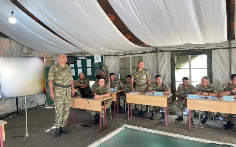 Azərbaycan Ordusunda briqada komanda-qərargah təlimi  keçirilir