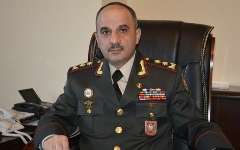 Nizam Osmanov Baş Qərargah rəisinin müavini vəzifəsindən azad edildi