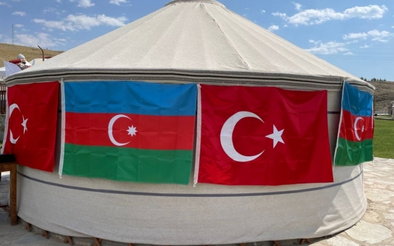 Türkiyədə Azərbaycan mədəniyyət çadırı açıldı