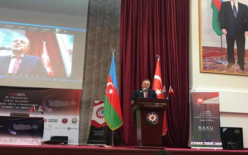Bakıda Beynəlxalq TURAZ Akademiyası Konqresi işə başladı -  FOTOLAR
