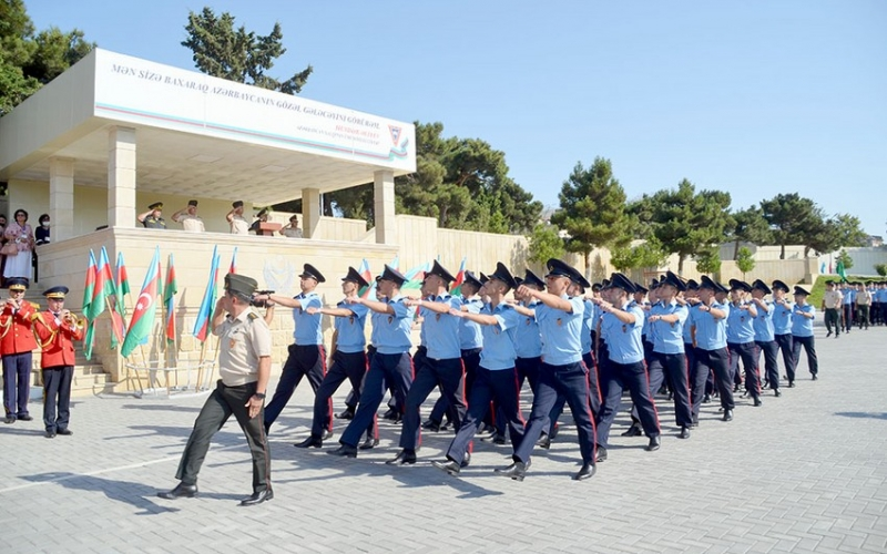 Kursantlar and içdilər -  VİDEO