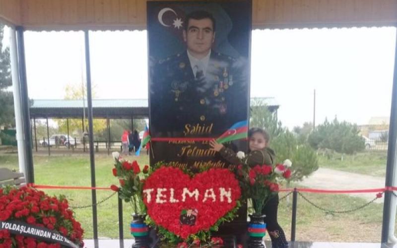 Şəhid komandirin əsgəri Ali Baş Komandana təşəkkür etdi
