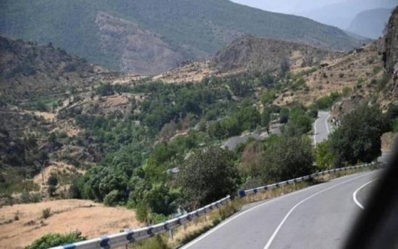 Gorus-Qafan yolunda iki erməni  itib