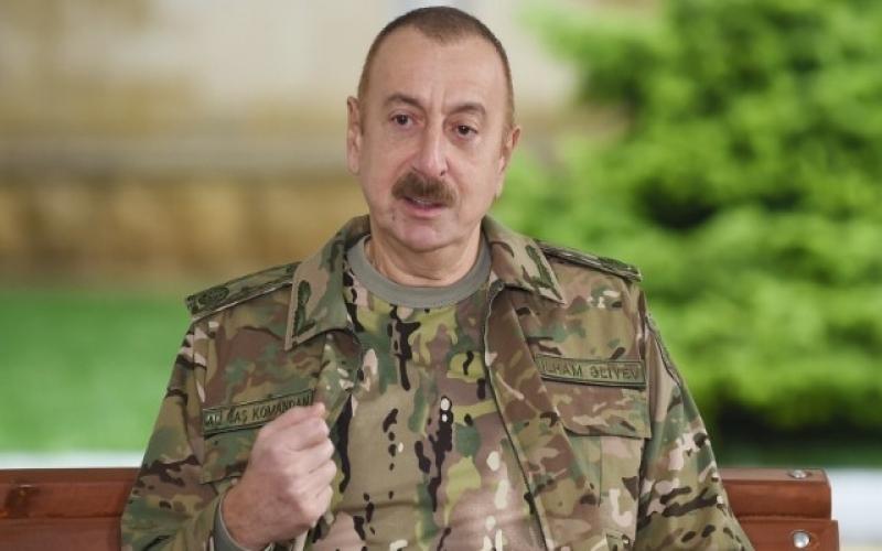 Azərbaycan prezidenti Zəngəzur dəhlizi ilə bağlı Ermənistana mesaj verdi