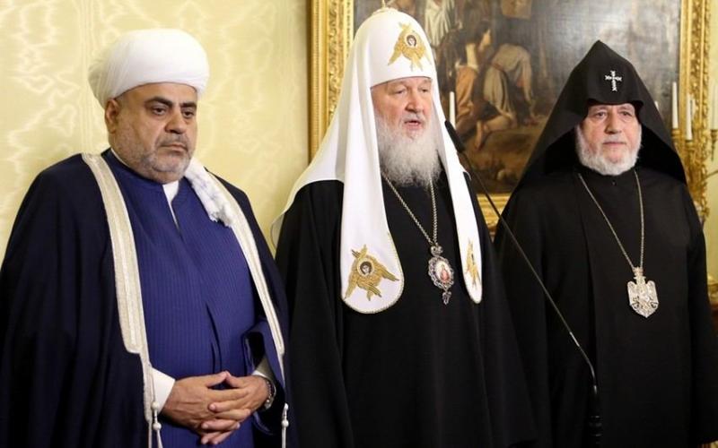 Moskvada dini liderlərinin üçtərəfli görüşü keçirilir
