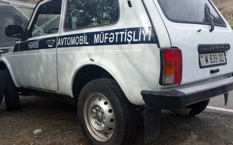 Ermənilər mülki avtomobil karvanına atəş açıb