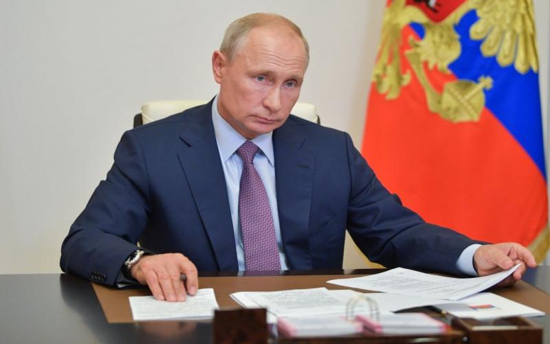 Putin Əfqanıstandakı terrorçulardan  danışdı